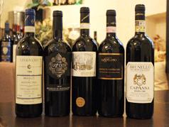 ■イタリアの土着品種を巡るワインプラン! 『北の白と、南の赤』や『シチリアの白と、トスカーナの赤』などシェフ厳選のおすすめの色々な地方のワインを楽しめます。 人数が多ければ多いほど楽しい、ワイン会にお薦め!お一人様1本のプラン(グループ全員のご注文となります)お一人様 ¥4,320